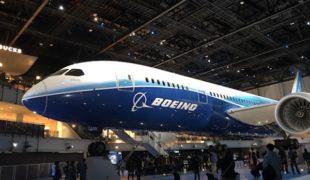 飛行機の流れ生産システム